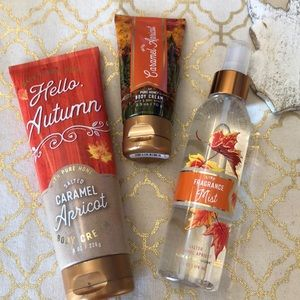 New Bath & Body Works Salted Carmel Apricot